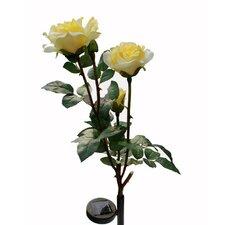 Solar Rose Flower Light