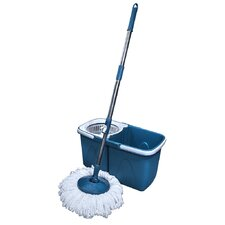 Mop Around® Mop and Foldable Bucket