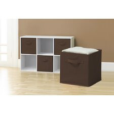 Collapsible Storage Cube (Set of 6)