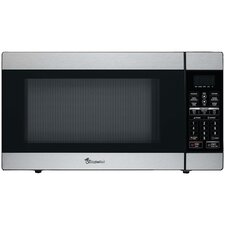 1.8 Cu. Ft. 1100W Countertop Microwave in Stainless Steel