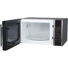 1.1 Cu. Ft. 1000W Countertop Microwave in Stainless Steel
