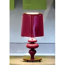 """Eva Small 11.1"""" H Table Lamp with Drum Shade"""