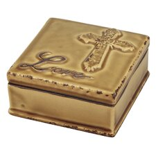 Accents of Faith Worn Love Ceramic Box (Set of 2)
