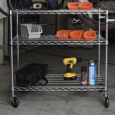 EcoStorage™ 3 Tier NSF Utility Cart