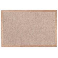Burlap Weave Wall Mounted Bulletin Board