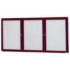 Radius Design Wall Mounted Enclosed Bulletin Board