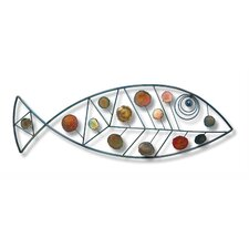 Iron Werks Dappled Fish Wall Décor