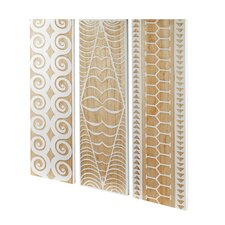 Ohana Trio Panels  Wall Art (Set of 3)