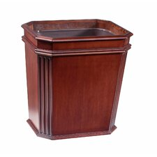 Fluted Wastebasket with Insert