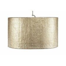 Selene 1 Light Oval Drum Pendant