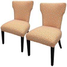 Amelia Chain Slipper Chair (Set of 2)