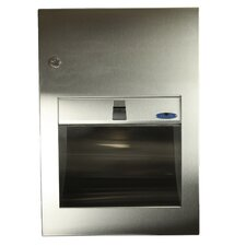Recessed Stainless Steel Paper Towel Dispenser
