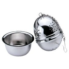Tea Infuser with Saucer (Set of 4)