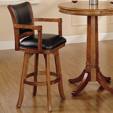 "Park View 26"" Swivel Bar Stool with Cushion"