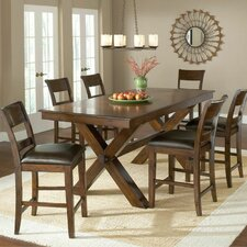 Park Avenue 7 Piece Counter Height Dining Set