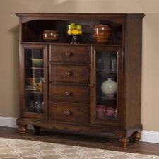 Pine Island 4 Drawer Baker's Cabinet