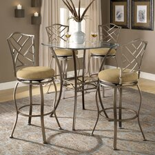 Brookside Bar Height Bistro Table Set