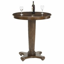Hillsdale Furniture Ambassador Bar Height Table in Rich Cherry
