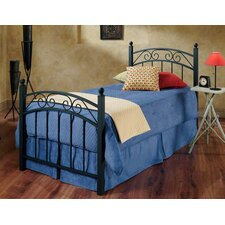 Willow Metal Panel Bed