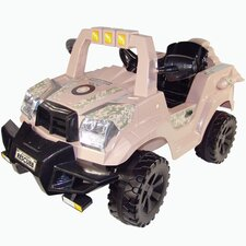 Rescue Ops 6V Battery Powered Jeep