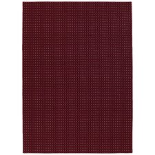 Red Jackson Square Area Rug