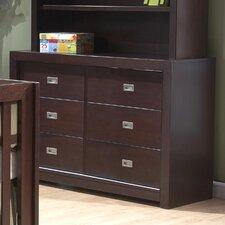 Novara 6 Drawer Dresser