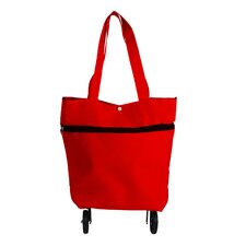 Foldable 2 Way Shopping Bag with Wheels