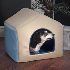 2-in-1 Dog House Pet Bed