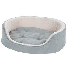 Suede Cuddle Round Pet Bed