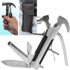Happy Camper™ Multi-Function 8 in 1 Camping Tool