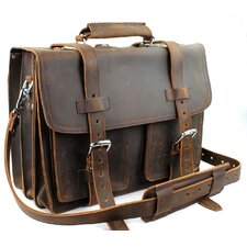 Heavy Duty Leather Briefcase