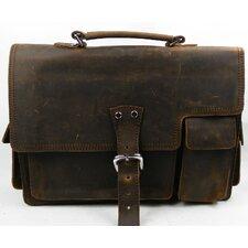 Vintage Leather Laptop Briefcase
