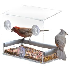 Tranquility Window Bird Feeder