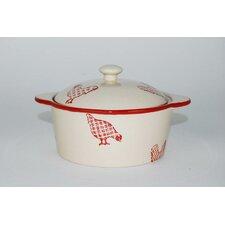 Barnyard Sugar Bowl with Lid