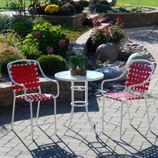 Harper 3 Piece Bistro Set