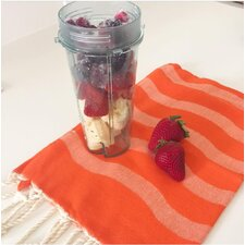 Fouta Wave Stripe Guest Hand Towel (Set of 2)