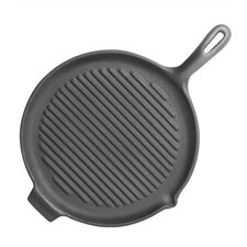 """Pre-Seasoned 10"""" Grill Pan and Griddle"""