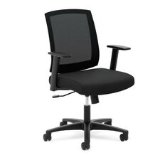HVL511 Series Mid-Back Mesh Task Chair with Arms