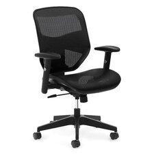 High-Back Mesh Task Office Chair with Adjustable Arms