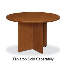 """Base, for Round Table, 29-1/8"""" H, Bourbon Cherry"""