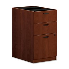 3-Drawer Pedestal File