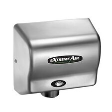 EXT Series 540W Max Hand Dryer in Satin Chrome