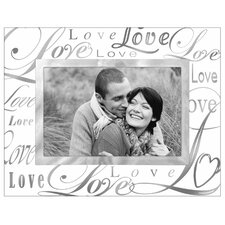 Metallic Glass Picture Frame