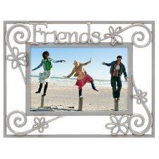 Friends Pierced 4'' x 6'' Picture Frame