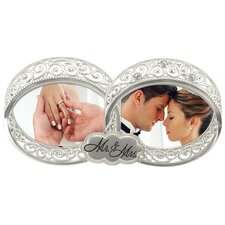 Double Wedding Ring 2-Opening Picture Frame