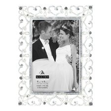 Diamond Hearts Picture Frame