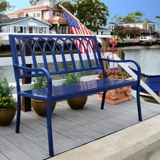 Lakeside Steel Park Bench