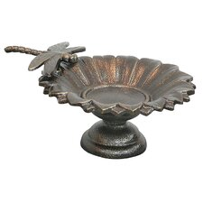 Dragonfly Tabletop Bird Bath