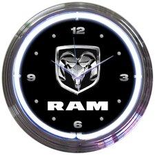 """15"""" RAM Neon Clock"""