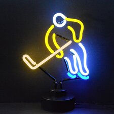 Sports Hockey Neon Sign